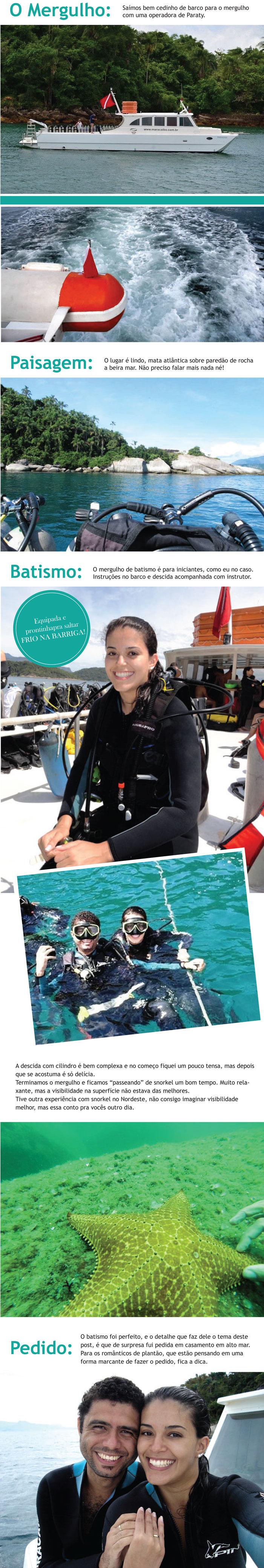Mergulho Paraty