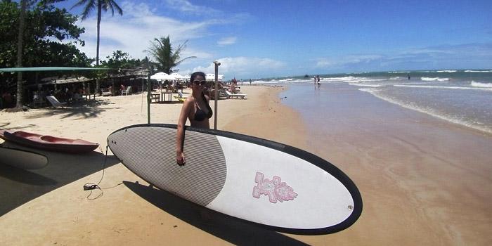 Stand up paddle -Praia dos Coqueiros
