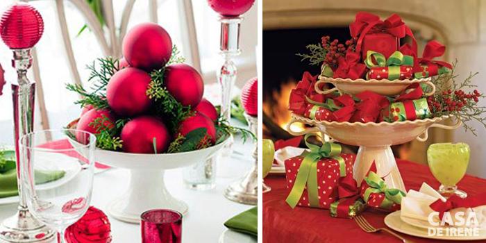 Top 20 mesas natalinas casa de irene for Centros de mesa para casa