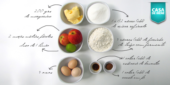 Ingredientes Bolo Rei 2