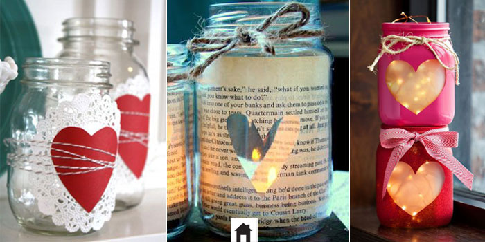 Decor DIY - Vidros e velas