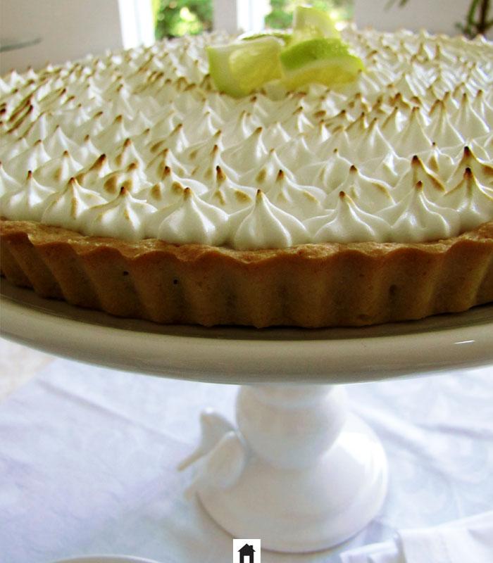 Torta de limão com massa crocante e deliciosa