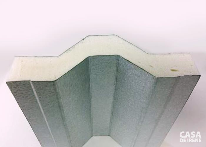 Telha Termoacústica dupla de poliuretano
