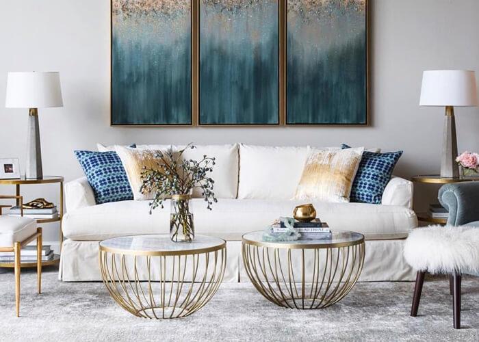 Symmetrie in der klassischen Dekoration