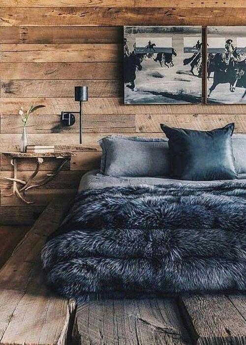 Rustikales Zimmer